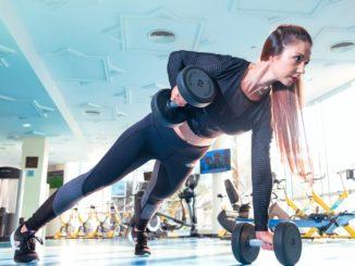 Durch Sport gesund, fit und schlank